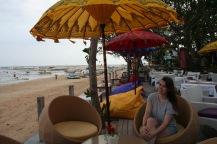 Lunch at Sanur Beach