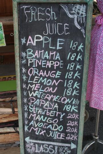 Fruit Juice <3