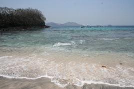 Crystal clear water at Padangbai