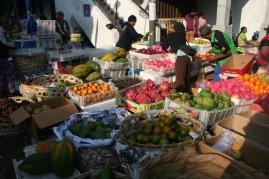 Fruit market in Ubud