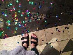 All that glitter....