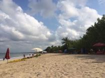 Kuta Beach on a Sunday Morning
