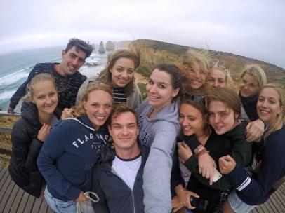 selfie at 12 Apostels
