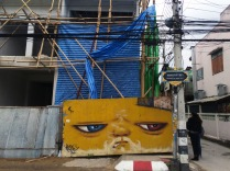 grumpy streetart