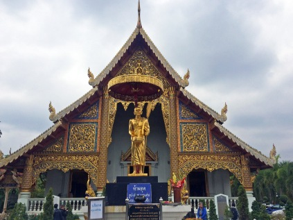 One of many temples in Chiang Mai