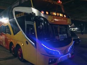 Nightbus in Laos