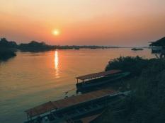 First sunset on Don Det