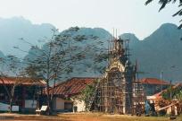 Town of Vang Vieng