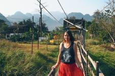 Me in Vang Vieng