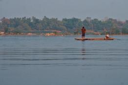 Mekong river calmness